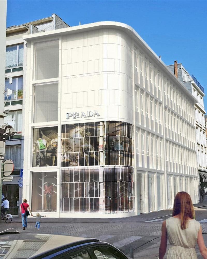 1624 Facade Prada store
